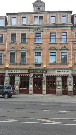 Kandler's Hotel: Hotelfront