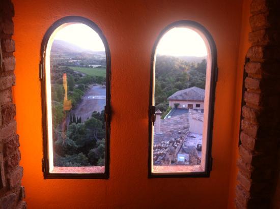 Vimbodí, España: Vista desde el apartamento