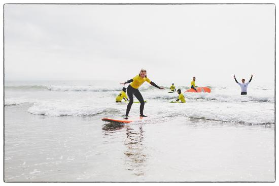 Croyde, UK: Surfing