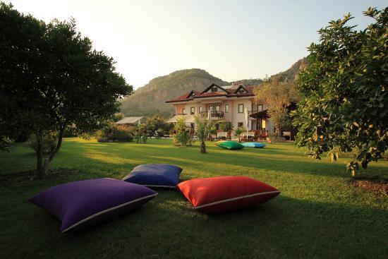 Gocek Arion Hotel: Bahçe manzarası