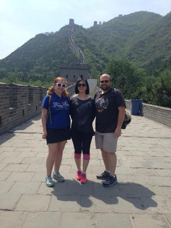 Beijing Private One-day Tour Guide AnnieLi : Great Wall with Annie Li