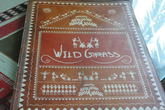 Wildgrass Restaurant: The Menu Card