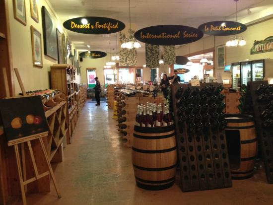 Magnotta Winery: View from back of the store