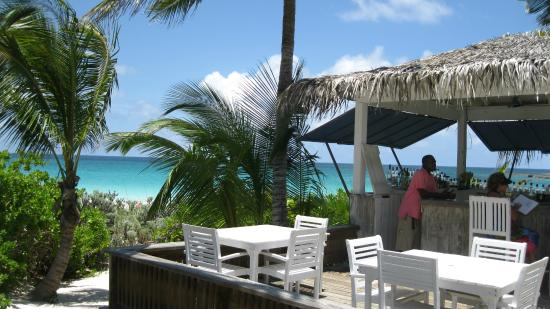 The Beach House Restaurant and Tapas Bar: View from Beach House Restaurant