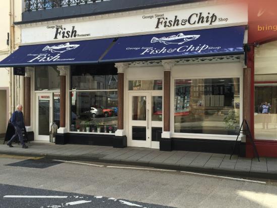 George Street Fish Restaurant Chip Shop Oban