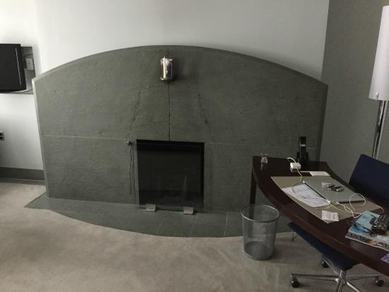 Loft Suite Fireplace