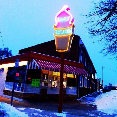 Great Ice Cream Along Iconic Woodward Ave Review Of Dairy Deluxe Birmingham Mi Tripadvisor