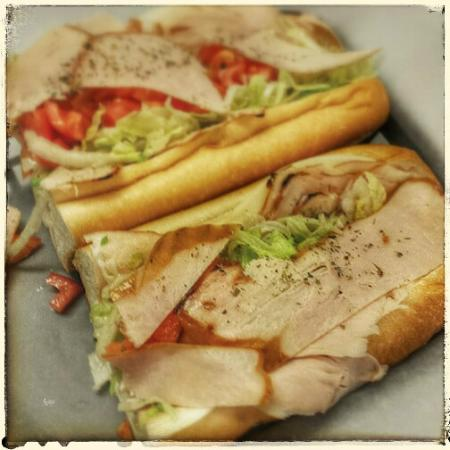 Bruno's of Lititz : Our hoagies are always fresh and feature fresh rolls delivered from Philly every morning.