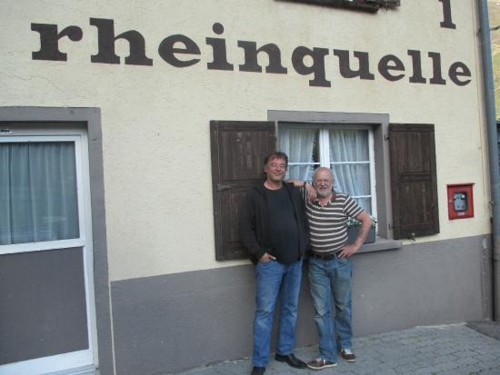 Tschamut, Ελβετία: so sehen zufriedene Gäste aus