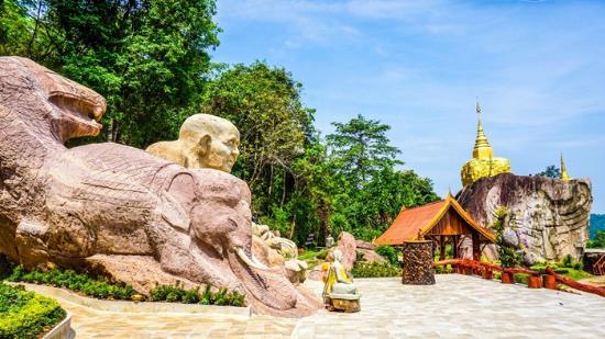Sakon Nakhon, Thái Lan: บริเวณวัด