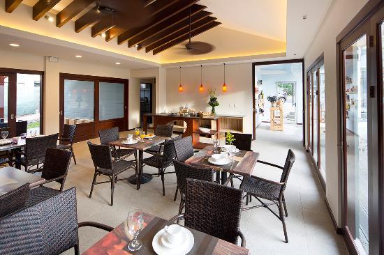 Hotel Villa Los Candiles: Restaurant Area