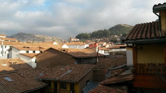 Amaru Hostal: Vista de la habitacion