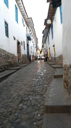 Amaru Hostal: Cuesta San Blas