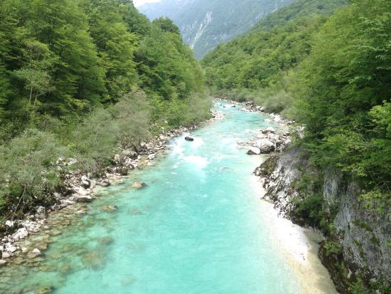 Adventure Slovenia: river in kobarid