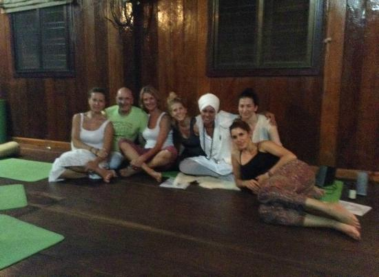 Angkor Bodhi Tree Retreat and Yoga Centre: after a fab kundalini yoga session with the incredible Siri - love this place