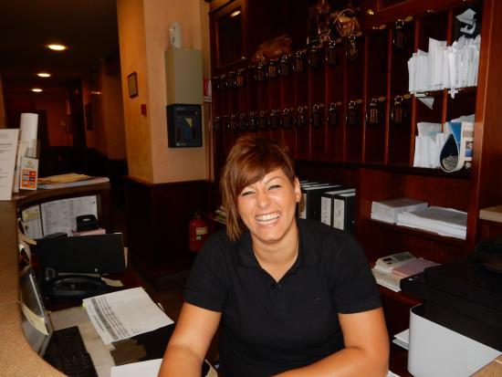 grazie to wonderful Veronica at Hotel Traiano...ciao bella!