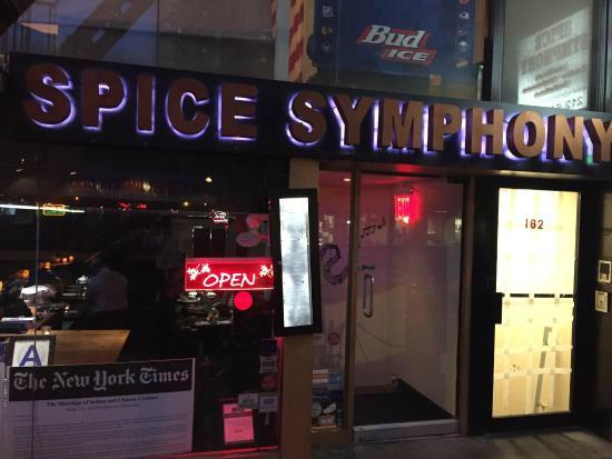 Outside picture of spice symphony new york city for Amaze asian fusion cuisine 3rd avenue new york ny