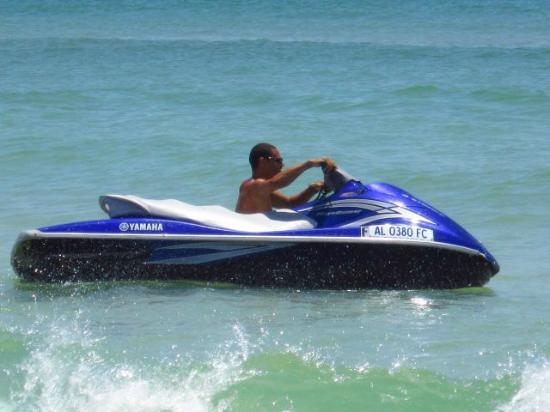 Blue Reef Watersports Jet Ski Al Gulf Ss Our New Orange Beach Parasailing Chute