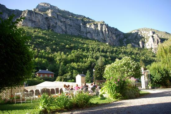 Hotel le Mirval : vue depuis l'hotel