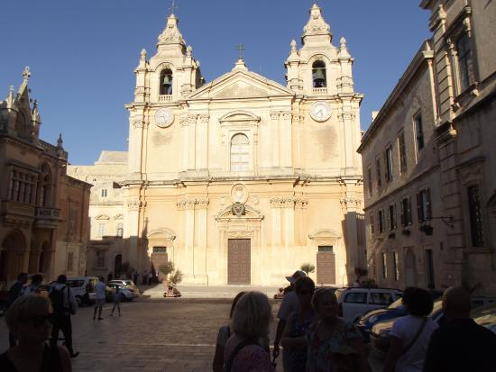 Amy's Guided Tours of Malta & Gozo - Tours: Church in Mdina