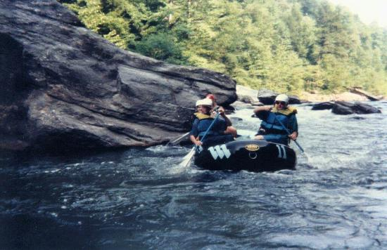 Chattooga River: easy paddling