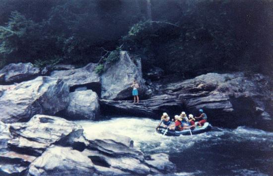 Chattooga River: rocky passage