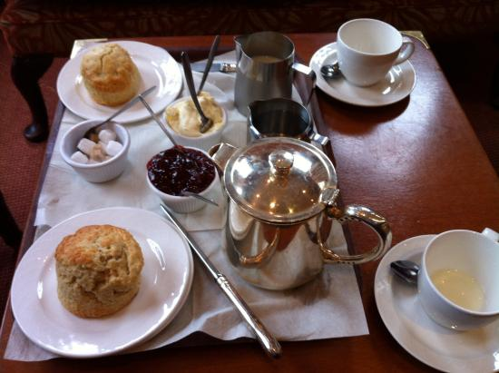 The Cottage Hotel: A serious cream tea