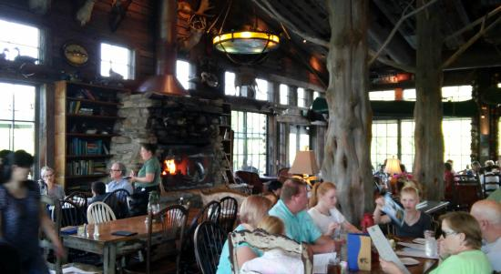 White River Fish House Inside Dining Area