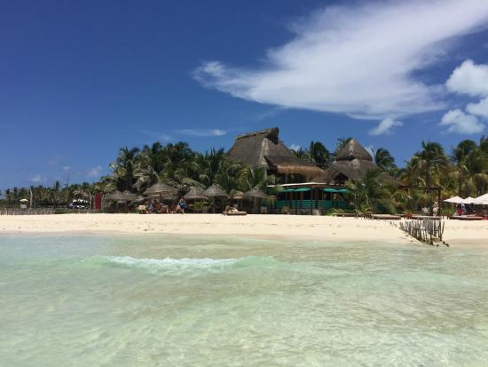 Na Balam Beach Hotel View Of From
