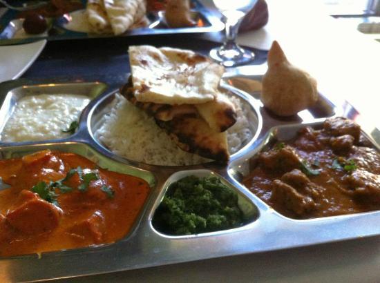 Guru India Restaurant Non Vegetarian Thali