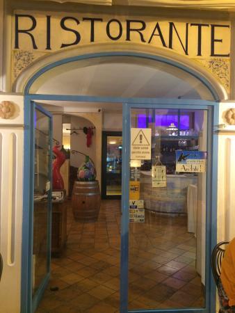 Restaurant K: Eingang