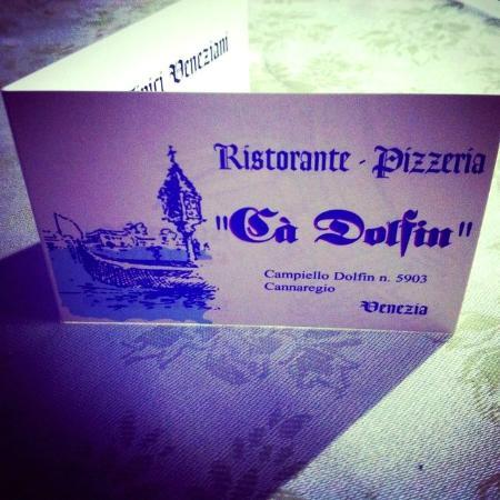 Ca Dolfin : Business card