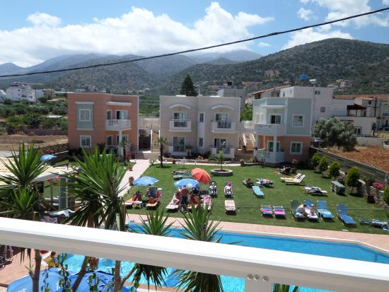 Sarpidon Apartments: View from our balcony
