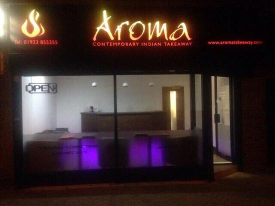 A warm welcome to Aroma