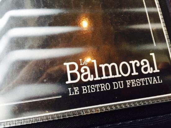 Bistro Le Balmoral : Great lunch