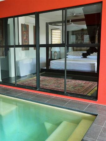 Mai Tai Resort: Executive Villa Spa / Plunge Pool and Master Bedroom