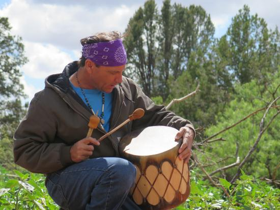 Sedona Sacred Earth: You won't just be listening to chants, you will be invited to join along too!