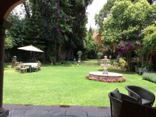 Jardin picture of casa del parque bed breakfast san for Expo casa y jardin 2015 wtc