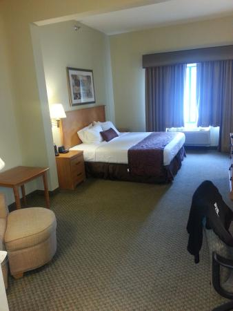 BEST WESTERN PLUS Coon Rapids North Metro Hotel: My room was super large and clean.