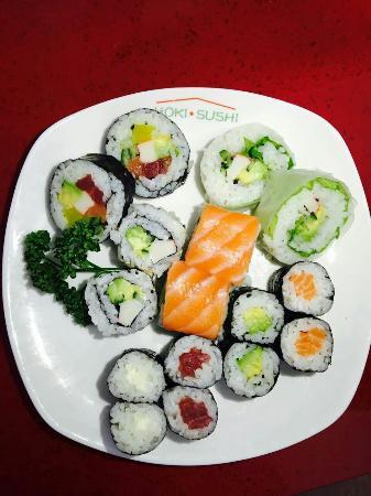 restaurant hoki sushi dans saint saturnin avec cuisine japonaise. Black Bedroom Furniture Sets. Home Design Ideas
