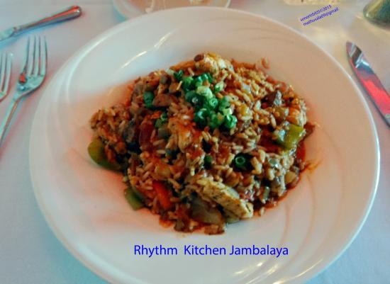Rhythm Kitchen Dinner Menu