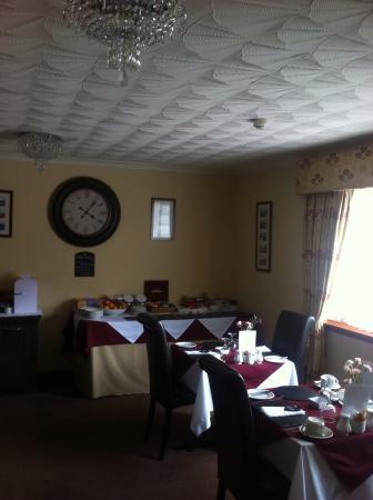 Avalon Guest House: Salle de petit dej