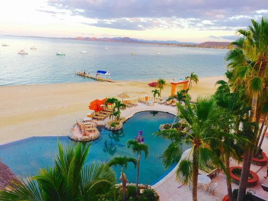 Bay view patio picture of hotel palmas de cortez los barriles