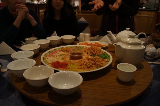Yangtze River Chinese Restaurant: Chinese Dinner