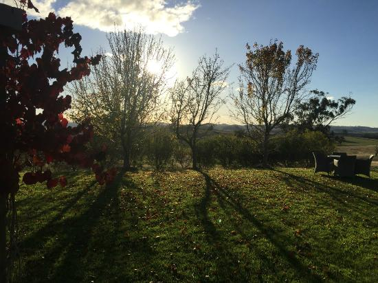 Rosby Guesthouse: Sunset views on our first day