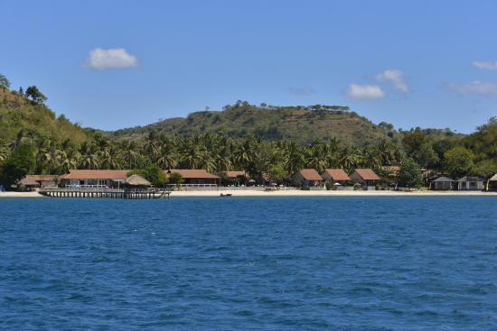 Cocotinos Sekotong, Boutique Beach Resort & Spa: Resort view from the sea