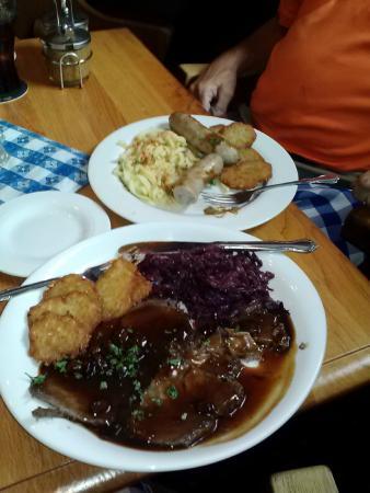 Bayern S Restaurant Sauerbraten And Wurst