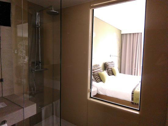 Hotel Inglaterra: bellissima doccia