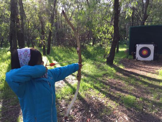 Busselton Archery & Family Fun Park: Beautiful morning at archery