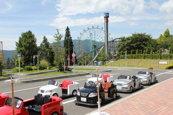 Parque Kijima Kogen: Kid's driving school